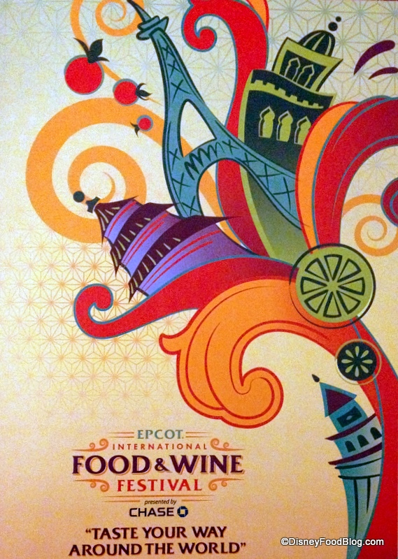 2013 Food And Wine Festival Art Work