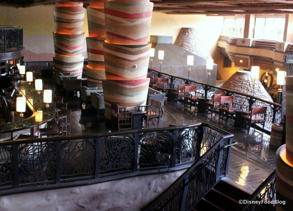 Victoria Falls in Disney's Animal Kingdom Lodge
