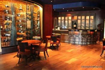 Bar Area and Wine Jiko
