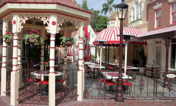 Carnation Cafe's Patio