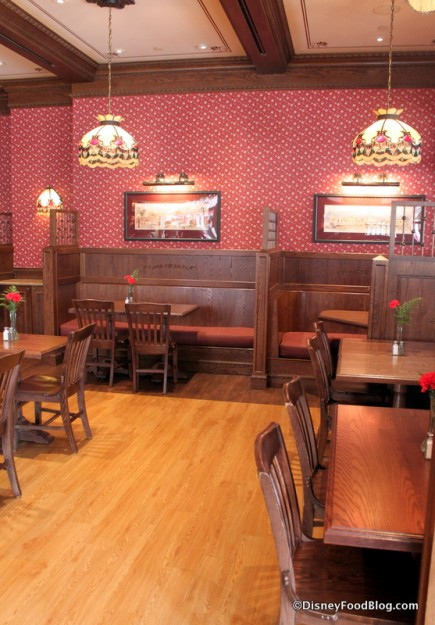 Interior Carnation Cafe
