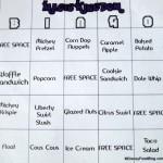 The Disney Food Blog Bingo Challenge!