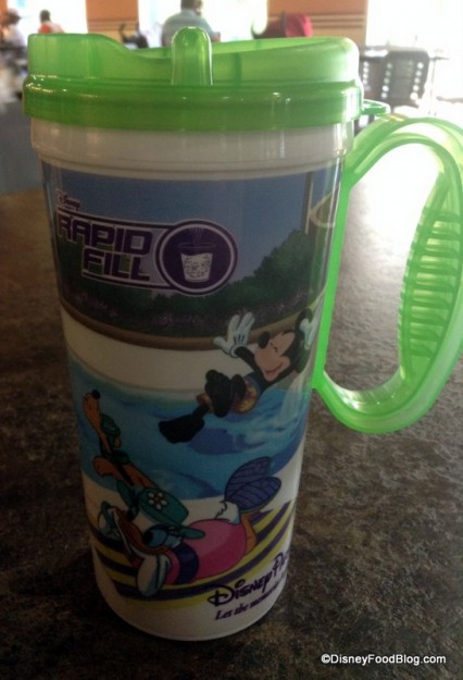 Green Rapid Fill Mug