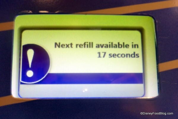 How much longer until my next refill?