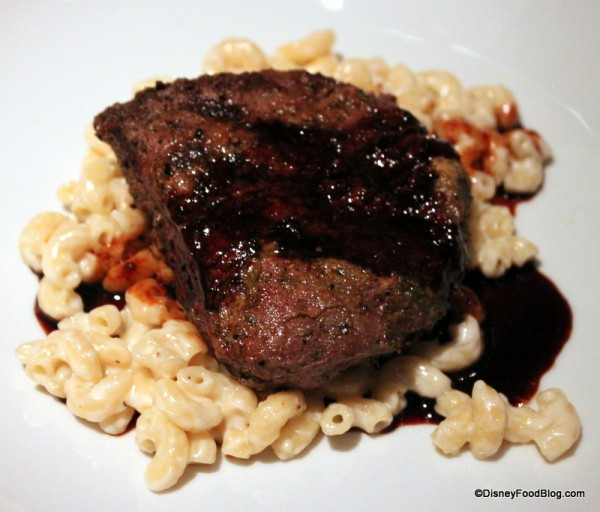 Oak Grilled Filet with Mac and Cheese