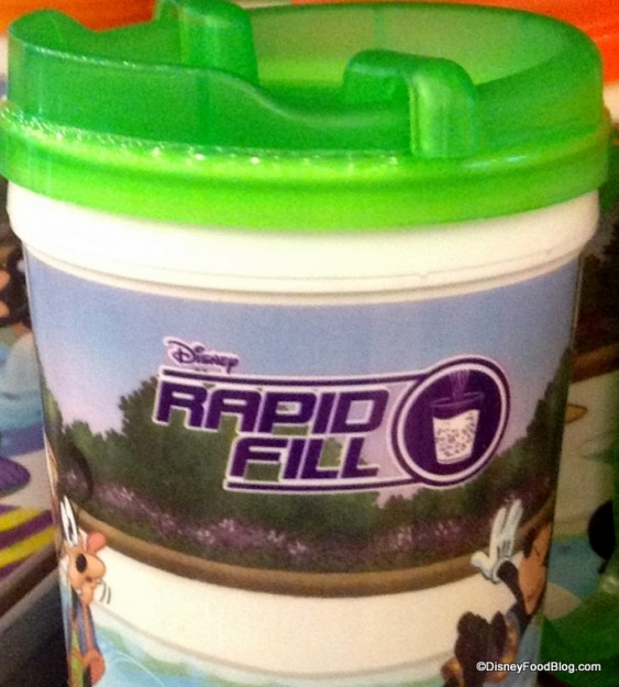 Rapid Fill Logo on the New Generation of Mugs