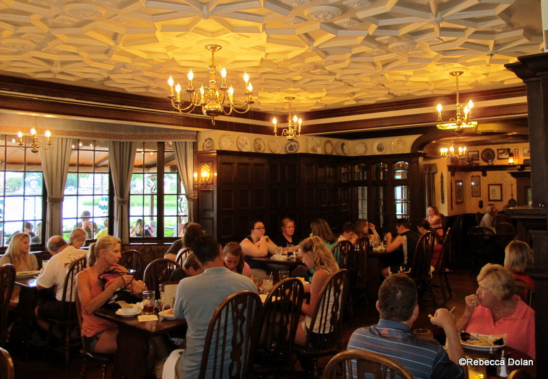 The Main Dining Room Is Connected To The Pub. Part 4
