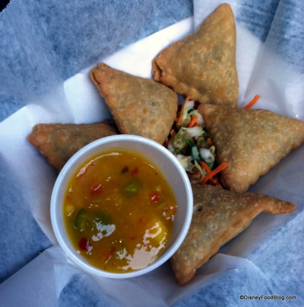 Samosas from Mr. Kamal's