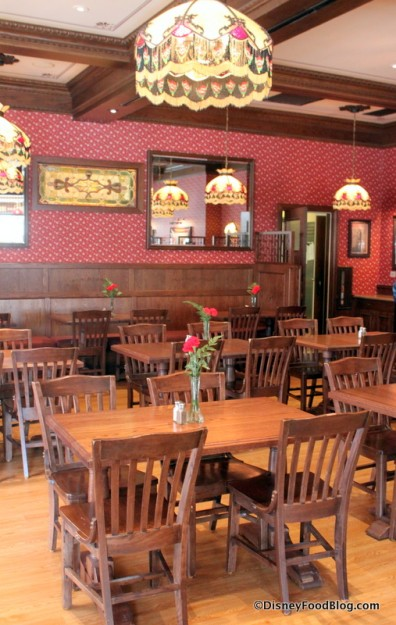 Disneyland's Carnation Cafe Added Indoor Seating This Year