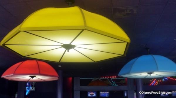 Electric Umbrellas!