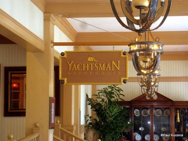 Yachtsman Steakhouse Signage