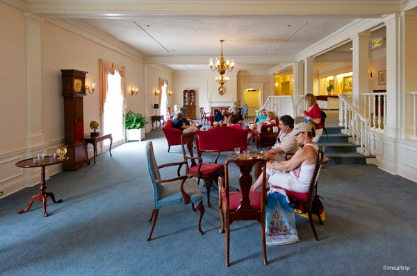 Chase Lounge in the America Pavilion