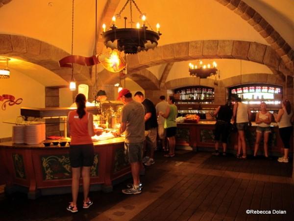 Guest Review Biergarten In Epcot S Germany Pavilion