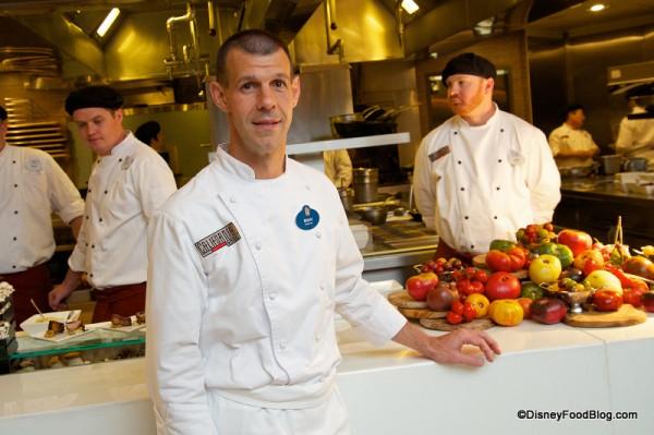 Brian Piasecki, Chef de Cuisine  at Disney's California Grill Will Be Moving to an Executive Position Within the Company