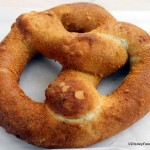 Snack Series: Cream Cheese Pretzel at Disneyland's Refreshment Corner