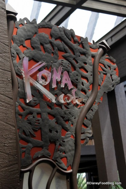 Disney Food Blog Kona-Sign-