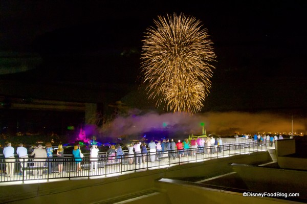 Want to Watch the Fireworks While You Dine at  California Grill? Then Be Sure to Make that ADR