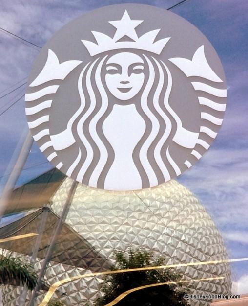 Fountain View Starbucks in Epcot