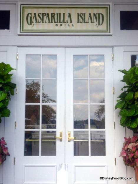 Gasparilla Island Grill Entrance