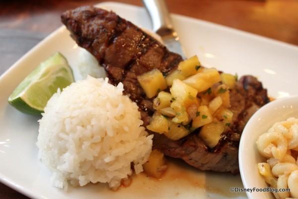 Grilled Teriyaki Steak