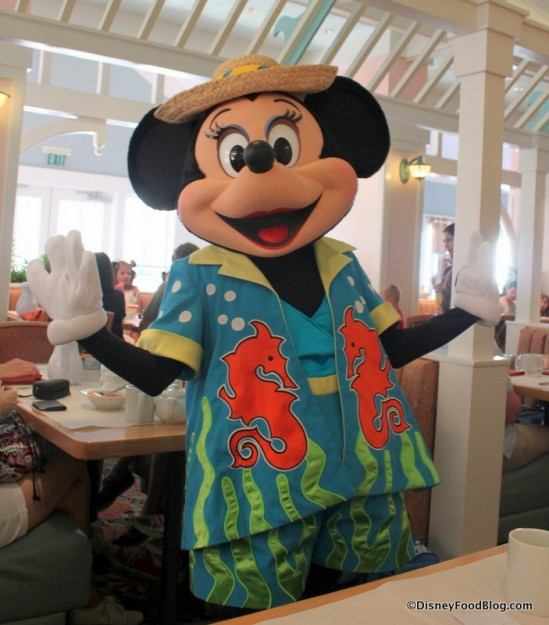 Minnie's Beach Bash Breakfast