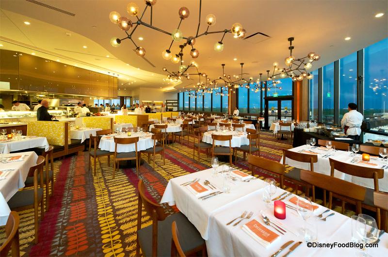 Disney S Contemporary Resort Restaurants
