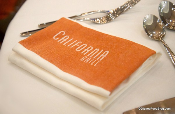 Napkins California Grill