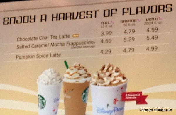 You'll Enjoy All of Your Seasonal Starbucks Favorites at Fountain View Cafe!
