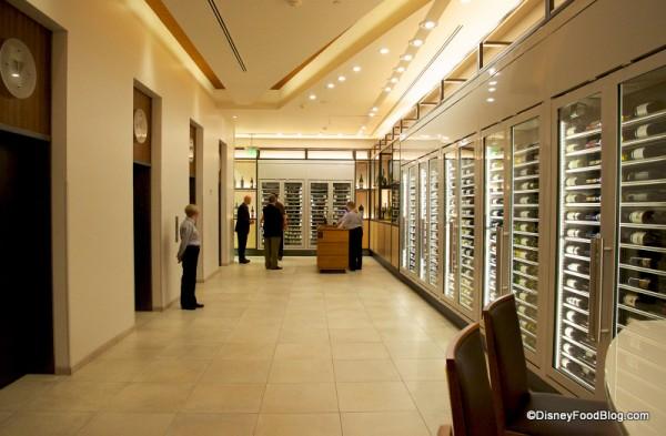Entrance and Wine Fridges