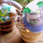 Review: NEW Gourmet Cake Cups at Magic Kingdom's Cheshire Cafe