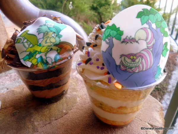 Themed Cake Cups at Cheshire Cafe