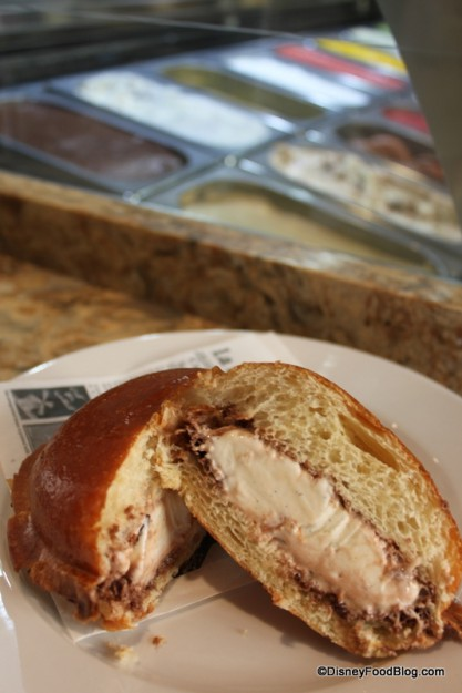 Brioche Ice Cream Sandwich