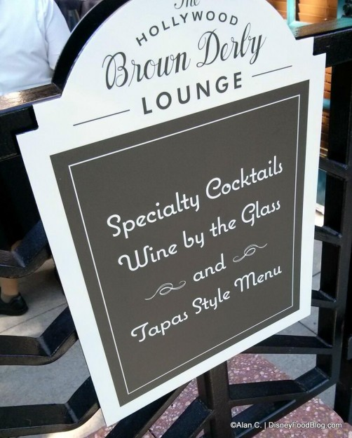 The New Lounge at Brown Derby!
