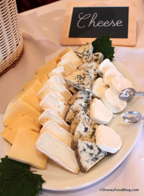 Cheese Display at 2013 Parisian Breakfast