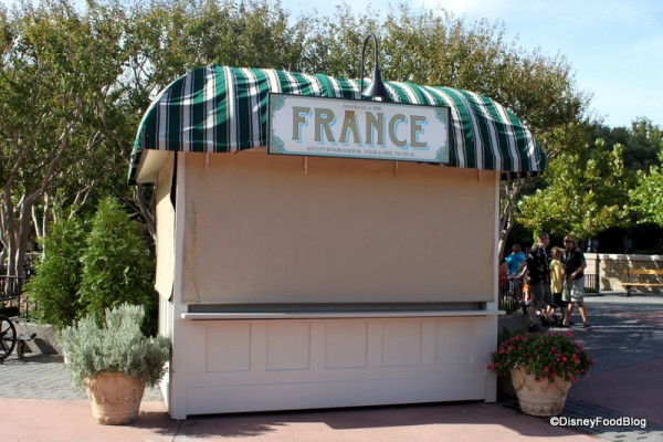 France Marketplace Booth