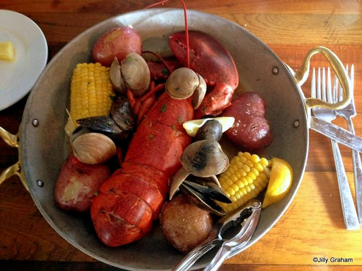Lobster Boil at Fulton's Crab House