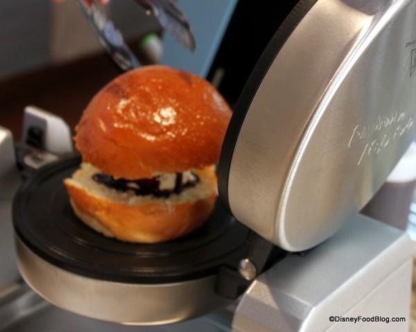 Pressed Brioche Sandwich
