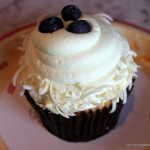 Review: NEW Lemon Blueberry Cupcake from BoardWalk Bakery
