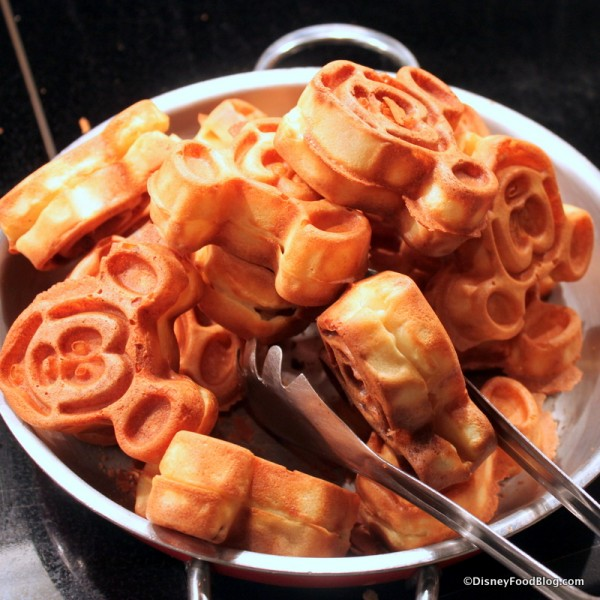 Pile o' Mickey Waffles