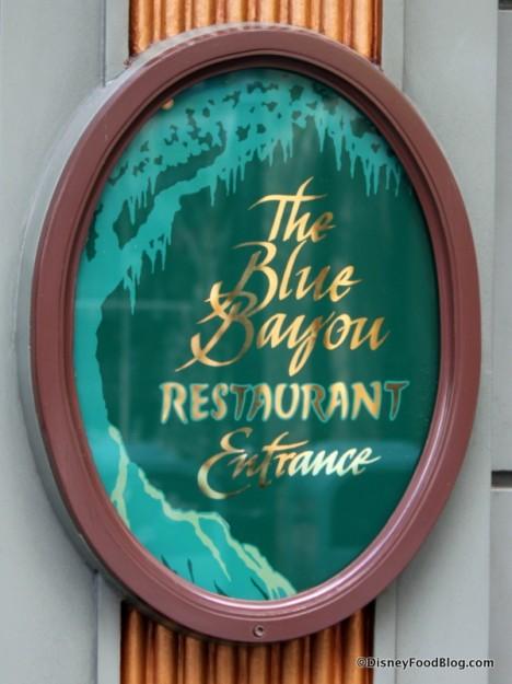 Blue Bayou Restaurant