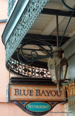 Blue Bayou Sign