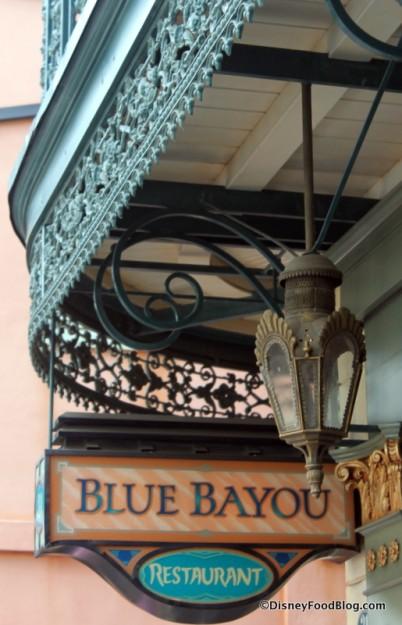 Blue Bayou Sign