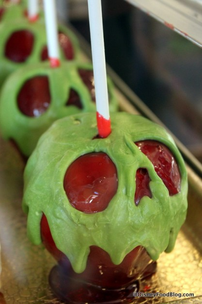 Chocolate Covered Caramel Apple The Disney Food Blog