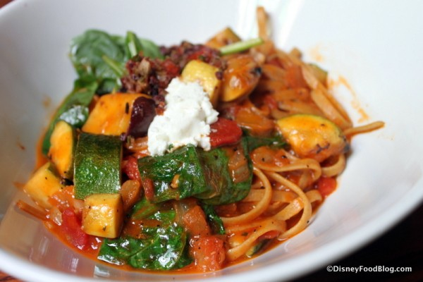 Whole Wheat Fettuccini will give way to a new dish