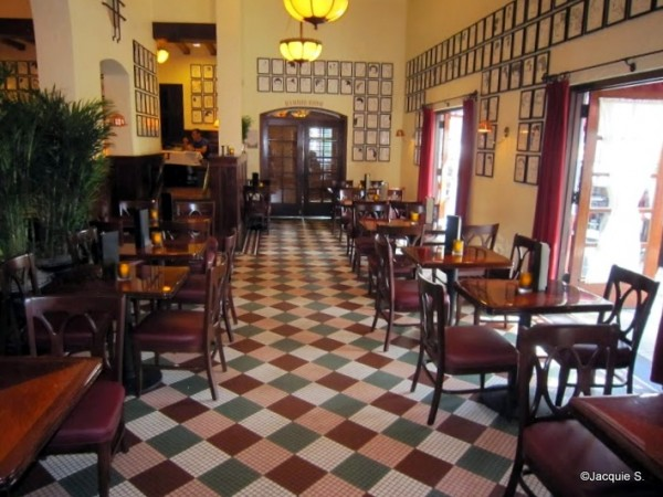 Inside Patio Seating at Brown Derby Lounge