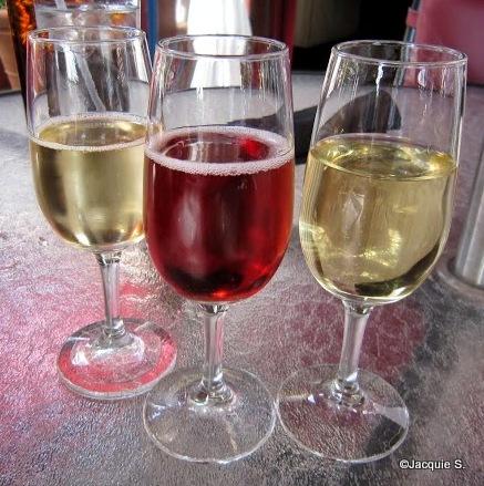 Wine at Brown Derby Lounge