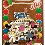 2013 Holiday Gingerbread Houses and Pins at Walt Disney World Resorts