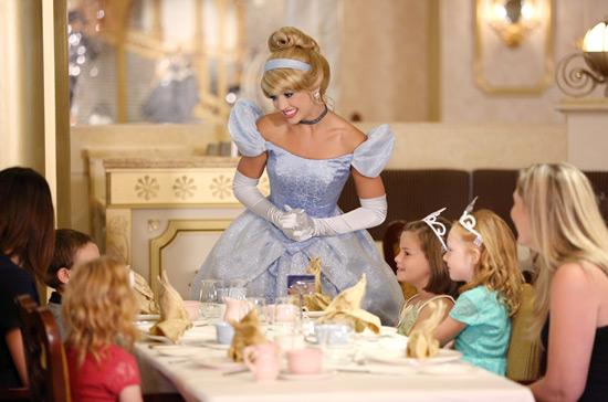 News royal court royal tea on disney cruise line s Cinderella afternoon tea