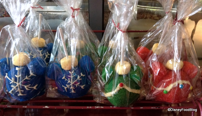 2013 holiday snacking around the world - Christmas Candy Apples