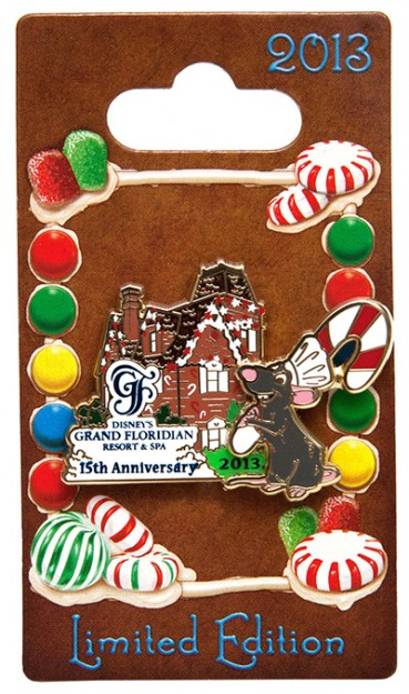 Grand Floridian 2013 Gingerbread House Pin